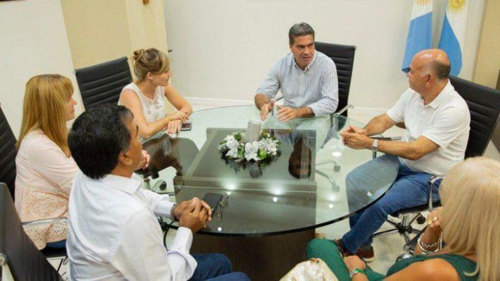 Presupuesto 2020: Capitanich recibió a diputados nacionales y espera por senadores