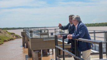 Puerto Las Palmas: gobernador y presidente anunciaron inversiones