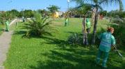 """Reacondicionaron la """"Plazoleta de los niños"""", espacio verde clave para distintos barrios de la zona"""