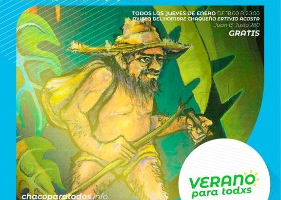 Taller infantil de mitología guaraní en el Museo del Hombre Chaqueño