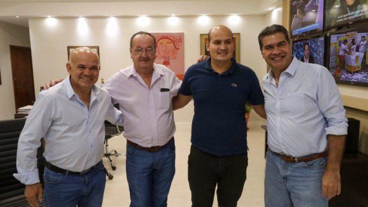 Tres Isletas: Capitanich y el intendente avanzaron en la reactivación de obras para la localidad