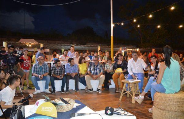 """Verano para todxs"" en Barranqueras: la vicegobernadora participó de actividades culturales 1"
