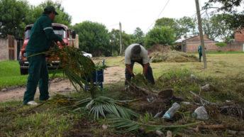 Acondicionaron la plazoleta del barrio Mujeres Argentinas Ampliación