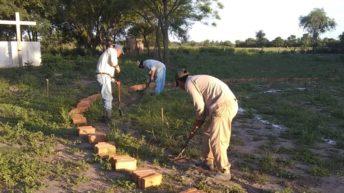 Construyen el monumento en memoria a las víctimas de la Masacre de Napalpí