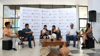 La vicegobernadora presentó a la delegación que participará en la 35° Fiesta Nacional de Artesanías