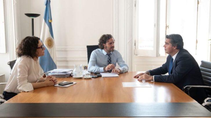 Con Santiago Cafiero, Capitanich gestionó fondos para contener el coronavirus y obras de infraestructura
