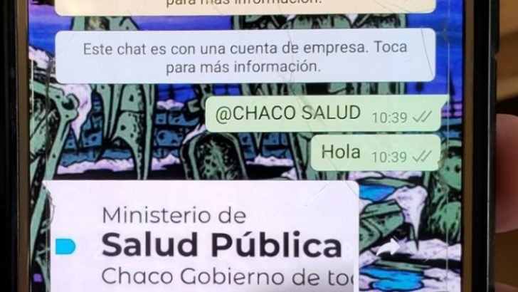 Salud amplía canales de comunicación a través de whatsapp para evacuar dudas por el coronavirus
