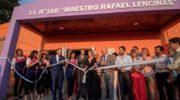 San Martín: Capitanich inauguró obras en el Jardín de Infantes N° 160