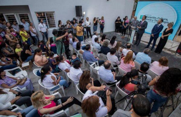 San Martín: Capitanich inauguró obras en el Jardín de Infantes N° 160 1