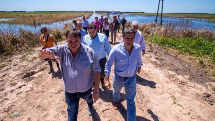 Se cumplió con la asistencia a los 11 municipios afectados por las inundaciones