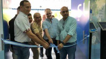 Transporte: se reinauguró el local de Sube en Sáenz Peña con el lanzamiento del boleto gratuito
