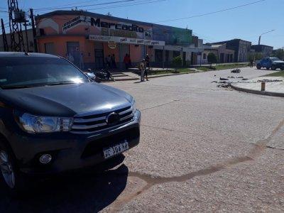 A bordo de una Zanella, adolescente pierde la vida tras chocar con una camioneta