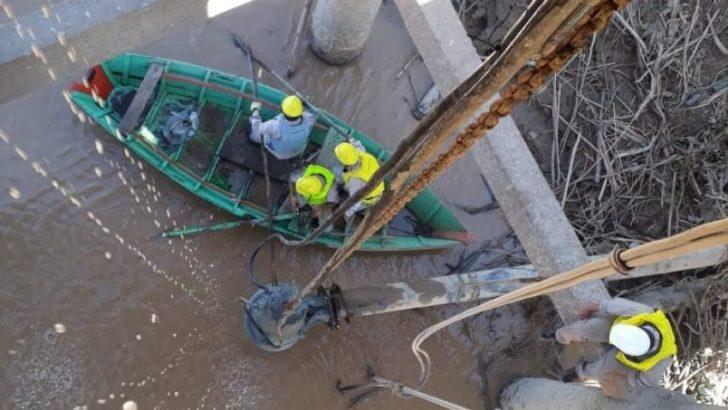 Bajante del Paraná: Sameep trabaja para ampliar el servicio de agua potable