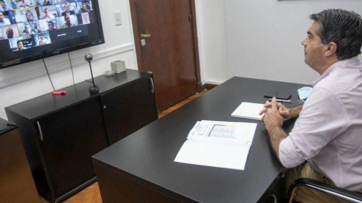Capitanich e intendentes analizaron las medidas de bioseguridad en ciudades críticas y no críticas