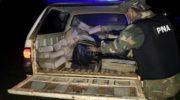 Prefectura incautó cigarrillos y más de 280 kilos de marihuana