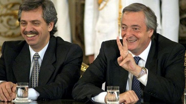 A 17 años de la asunción de Néstor Kirchner en la Presidencia, con Alberto Fernández como jefe de Gabinete