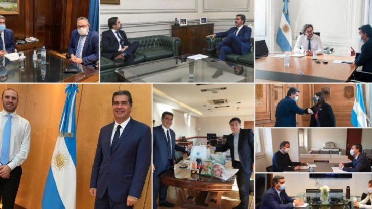 Capitanich gestionó fondos de inversión e incentivos para reactivar la economía en Chaco