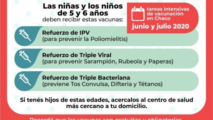 Lanzan la cruzada provincial para prevenir el sarampión y la polio