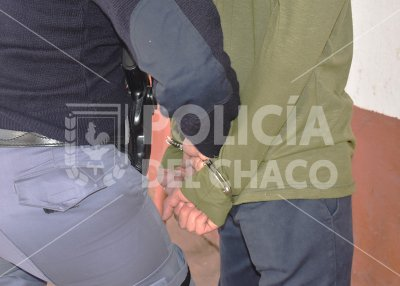 San Martín: terminó detenido luego de amenazar a su familia con hacer explotar una garrafa