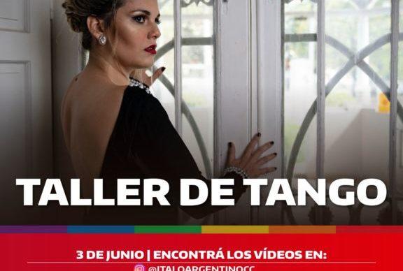 Talleres virtuales gratuitos del Ítalo Argentino 1