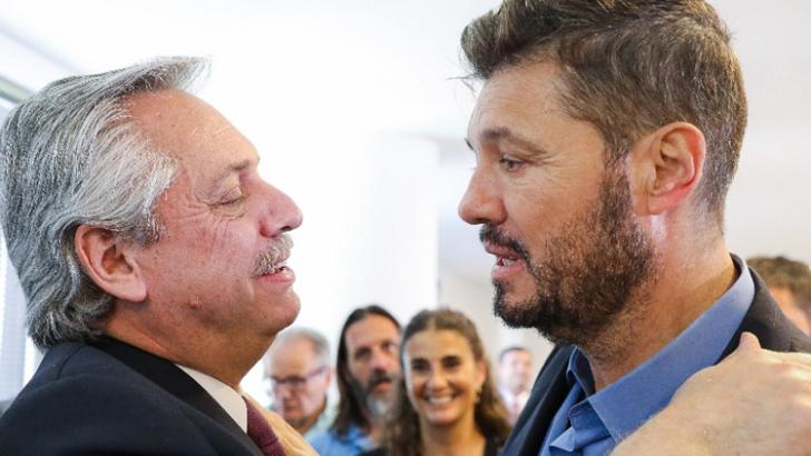 """Tinelli recogió el guante tras la chicana de Alberto por el descenso del """"Cuervo"""" a manos del """"Bicho"""""""