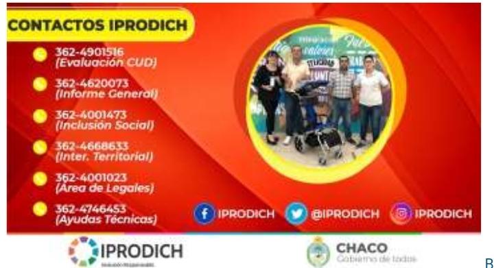 Aislamiento obligatorio: el Iprodich mantiene la atención telefónica y virtual