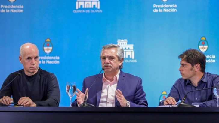 Aislamiento social: el mediodía, Fernández, Kicillof y Larreta anuncian los alcances de las nuevas restricciones