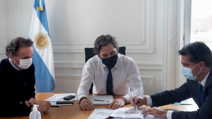 Capitanich en Buenos Aires: 200 viviendas para el Gran Toba y 900 millones para obras en los municipios