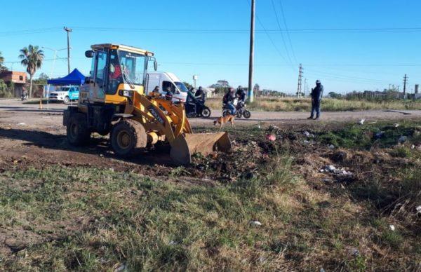 Continúan los operativos de eliminación de basurales en la zona sur y piden colaboración de los vecinos 1