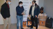 El Municipio recibió donaciones de tapabocas y máscaras de acrílico para el personal municipal