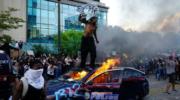 Estados Unidos: la protesta desafió el toque de queda en la séptima noche de protestas