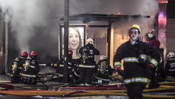 Explosiones e incendio en una perfumería porteña: dos bomberos muertos