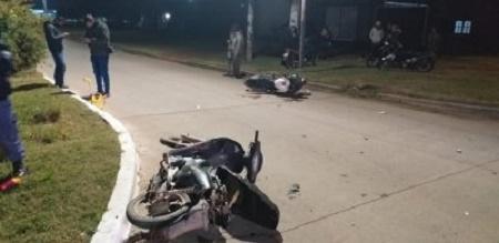 Sáenz Peña: murió un hombre de 52 años tras el choque de dos motos