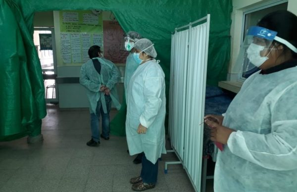 Se realizaron más de 100 hisopados en misión Nueva Pompeya 1