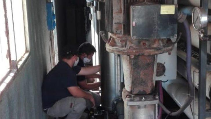 Sudoeste: Sameep realiza trabajos para repotenciar el suministro de agua