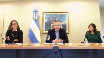 Alberto presentó el Plan Nacional de Acción contra las Violencias por Motivos de Género