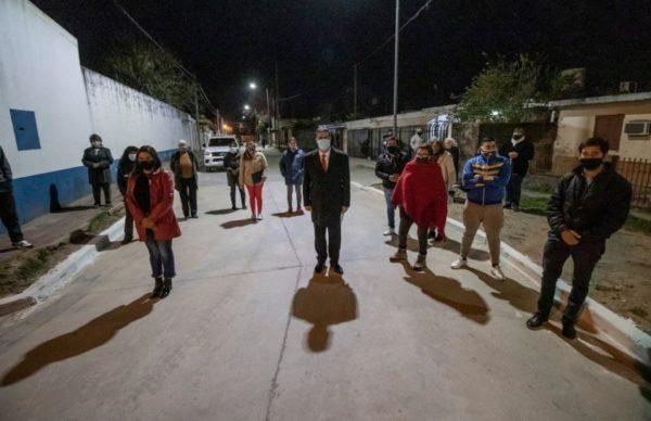 Barranqueras: se inauguró el Registro Civil y se habilitaron cuadras de pavimento 1