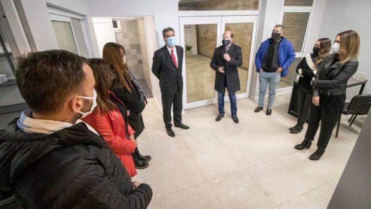 Barranqueras: se inauguró el Registro Civil y se habilitaron cuadras de pavimento