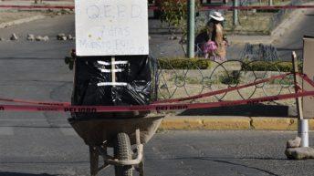 Bolivia: colapsó el sistema funerario y depositan cadáveres en las calles