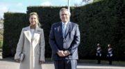 Con gobernadores, empresarios, CGT y las FFAA, Alberto encabeza el acto por el Día de la Independencia