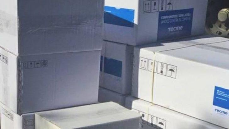 Chaco recibió 14 respiradores artificiales para el hospital modular del Perrando