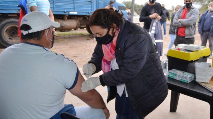 Continúa la campaña de vacunación antitetánica para el personal municipal de Resistencia