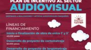 Convocan al Plan de Incentivo Audiovisual