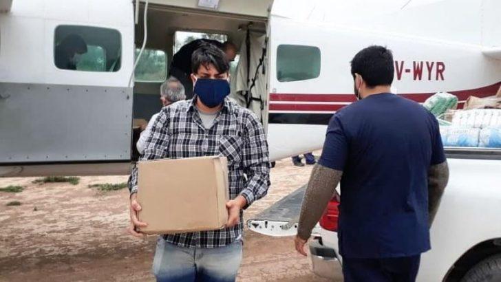 Durante los primeros días de julio, entregan 100 mil insumos de protección personal para agentes sanitarios