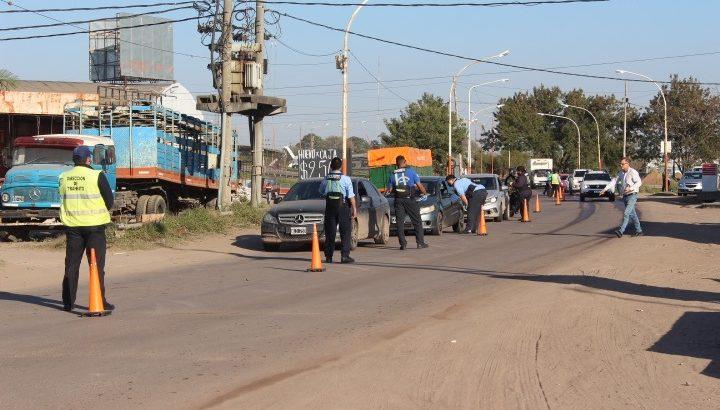 El Municipio de Resistencia controló tránsito, transporte, fumigación y ruidos molestos durante el fin de semana