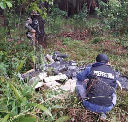 Golpe al narcotráfico: Prefectura secuestró más de una tonelada de marihuana en Misiones
