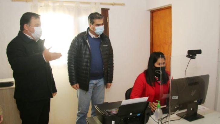 Inauguraron el Registro Civil de Lapachito