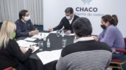 """Martínez, tras el cónclave con Capitanich: """"Los números son favorables gracias al esfuerzo en estos 15 días"""""""