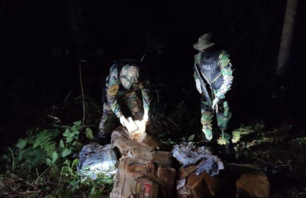 Prefectura secuestró 249 panes de marihuana 1