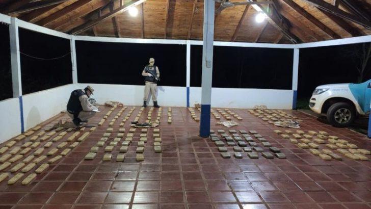Prefectura secuestró 249 panes de marihuana